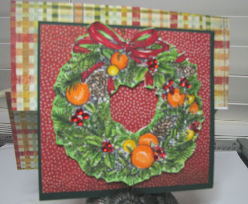 Christmas Wreath-Williamburg. 1.a